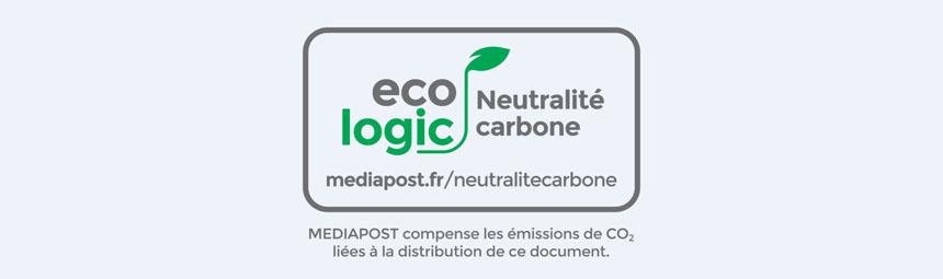 Avec Ecologic, MEDIAPOST propose un nouveau marquage de neutralité carbone à ses clients !
