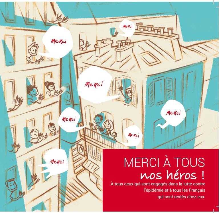 MEDIAPOST utilise l'imprimé publicitaire pour dire « Merci » aux Français