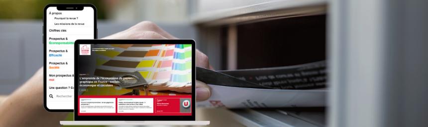 MEDIAPOST lance « La Revue du Prospectus », un nouveau site d'informations dédié à 100 % à la responsabilité du prospectus et son écosystème.