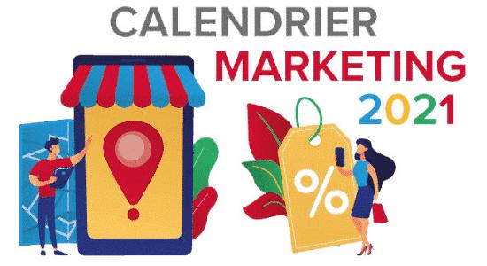 Calendrier Marketing Slider Mobile